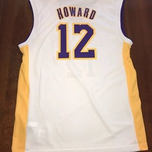 8b86d40c646 adidas Shirts - Los Angeles Lakers Dwight Howard Jersey Medium